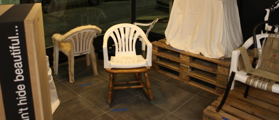 ding plastic chair project#2