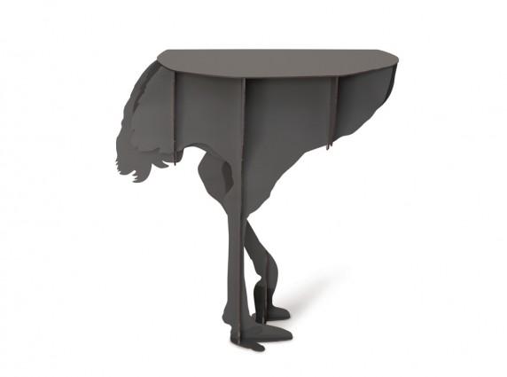 Diva Grey τραπέζι εισόδου