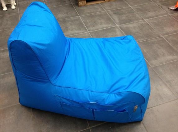 rlax_electic-blue πολυθρόνα πουφ