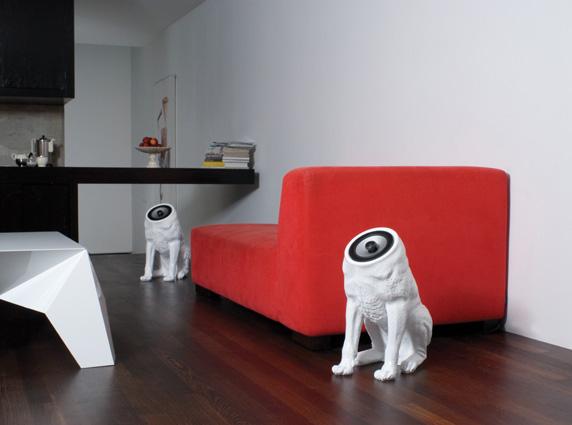 woofers speakers  ηχεία σε σχήμα σκύλου