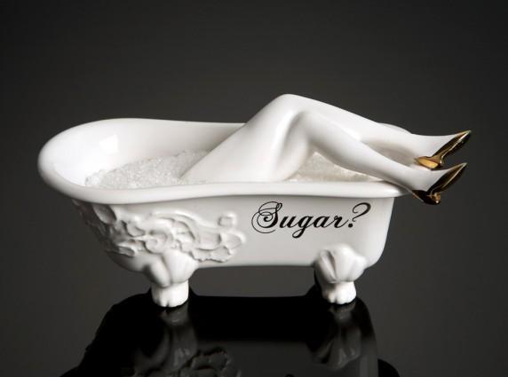 sugar gold shoe μοντέρνα ζαχαριέρα